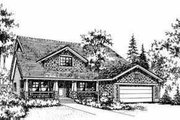 Bungalow Style House Plan - 4 Beds 2 Baths 1934 Sq/Ft Plan #78-138 Exterior - Front Elevation