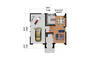 Contemporary Style House Plan - 2 Beds 1 Baths 1290 Sq/Ft Plan #25-4879 Floor Plan - Main Floor