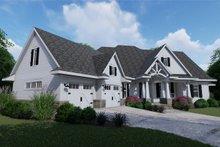 Architectural House Design - Left Front