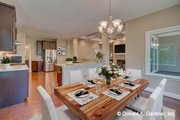 Traditional Style House Plan - 4 Beds 4 Baths 2607 Sq/Ft Plan #929-980 Interior - Dining Room
