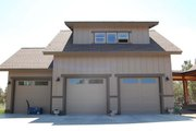 Craftsman Style House Plan - 3 Beds 3 Baths 2694 Sq/Ft Plan #895-19 Exterior - Other Elevation
