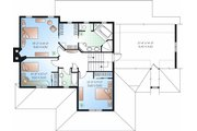 Country Style House Plan - 3 Beds 2.5 Baths 2183 Sq/Ft Plan #23-745 Floor Plan - Upper Floor Plan