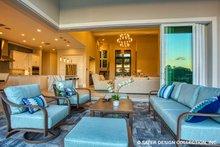 Contemporary Exterior - Outdoor Living Plan #930-504