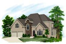 Dream House Plan - European Exterior - Front Elevation Plan #56-216