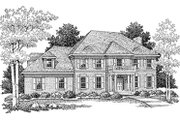 Modern Style House Plan - 3 Beds 2.5 Baths 2504 Sq/Ft Plan #70-438 Exterior - Front Elevation