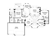Ranch Style House Plan - 2 Beds 2.5 Baths 2794 Sq/Ft Plan #51-466 Floor Plan - Main Floor Plan