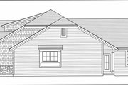 Craftsman Style House Plan - 3 Beds 2.5 Baths 2479 Sq/Ft Plan #46-527 Exterior - Other Elevation