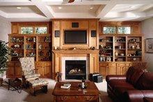 Dream House Plan - Lower Level Family Room