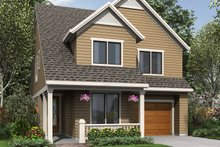 Dream House Plan - Traditional Exterior - Front Elevation Plan #48-484