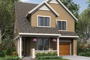 Traditional Exterior - Front Elevation Plan #48-484