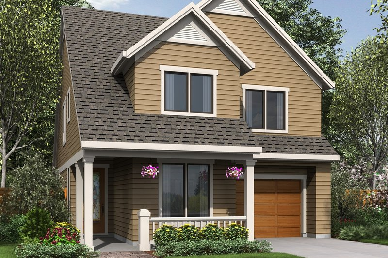 House Design - Traditional Exterior - Front Elevation Plan #48-484