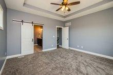 Ranch Interior - Master Bedroom Plan #70-1484