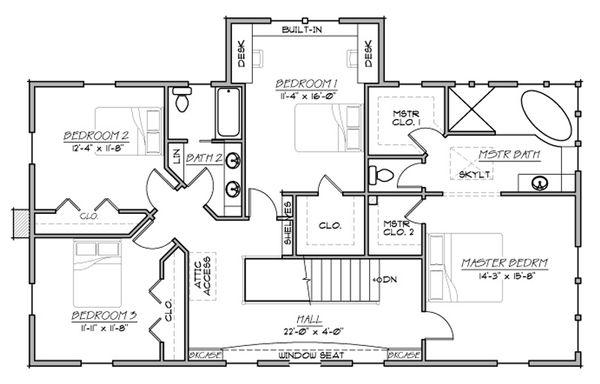 House Plan Design - Farmhouse plan