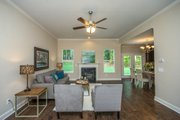 Country Style House Plan - 3 Beds 2.5 Baths 1635 Sq/Ft Plan #20-2192 Interior - Entry