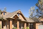 Craftsman Style House Plan - 5 Beds 3.5 Baths 5266 Sq/Ft Plan #48-640 Exterior - Front Elevation