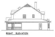 Country Exterior - Other Elevation Plan #40-438