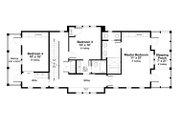 Beach Style House Plan - 4 Beds 3 Baths 2878 Sq/Ft Plan #443-18 Floor Plan - Upper Floor Plan