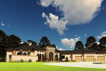 Architectural House Design - European Exterior - Other Elevation Plan #923-208