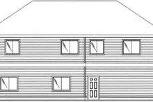 Traditional Exterior - Rear Elevation Plan #117-478