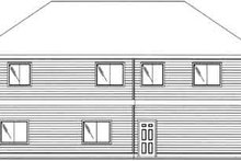 Dream House Plan - Traditional Exterior - Rear Elevation Plan #117-478
