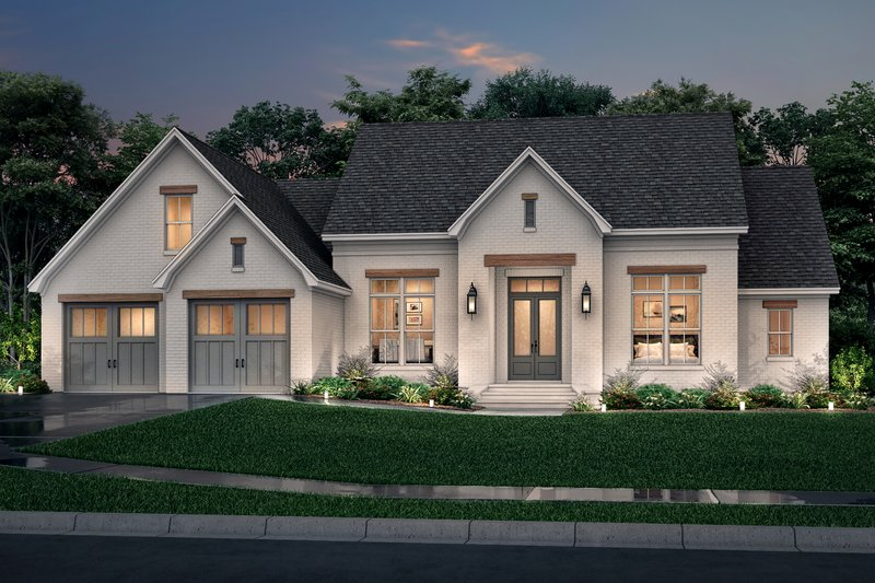 Farmhouse Style House Plan - 3 Beds 2 Baths 2199 Sq/Ft Plan #430-235