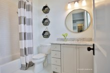 House Plan Design - European Interior - Bathroom Plan #929-1009