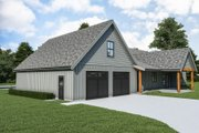 Farmhouse Style House Plan - 3 Beds 2.5 Baths 2564 Sq/Ft Plan #1070-117 Exterior - Other Elevation
