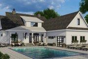 Farmhouse Style House Plan - 4 Beds 4.5 Baths 2913 Sq/Ft Plan #51-1153 Exterior - Rear Elevation