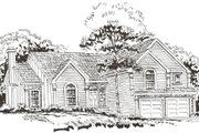 Country Style House Plan - 4 Beds 3 Baths 1954 Sq/Ft Plan #405-204