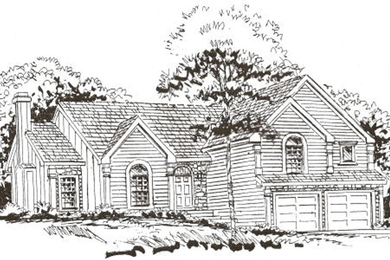 Home Plan - Country Exterior - Front Elevation Plan #405-204