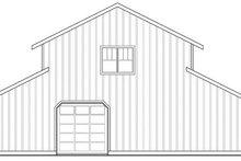 Farmhouse Exterior - Rear Elevation Plan #124-865