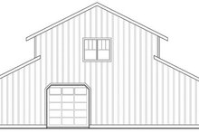 House Plan Design - Farmhouse Exterior - Rear Elevation Plan #124-865