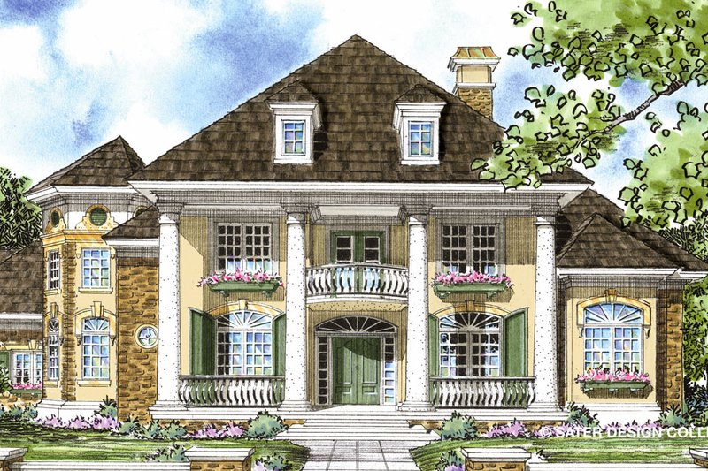 Home Plan - Classical Exterior - Front Elevation Plan #930-269