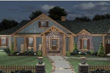 House Design - Cottage Exterior - Front Elevation Plan #56-716