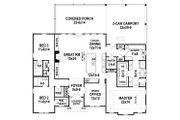 Ranch Style House Plan - 3 Beds 3.5 Baths 2403 Sq/Ft Plan #119-435 Floor Plan - Main Floor Plan