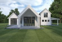 Farmhouse Exterior - Rear Elevation Plan #1070-110