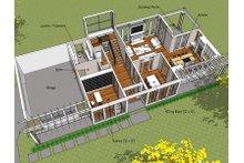Prairie Floor Plan - Main Floor Plan Plan #481-3