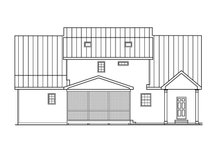 Country Exterior - Front Elevation Plan #419-245