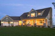 Country Style House Plan - 3 Beds 2.5 Baths 3289 Sq/Ft Plan #51-198 Exterior - Front Elevation