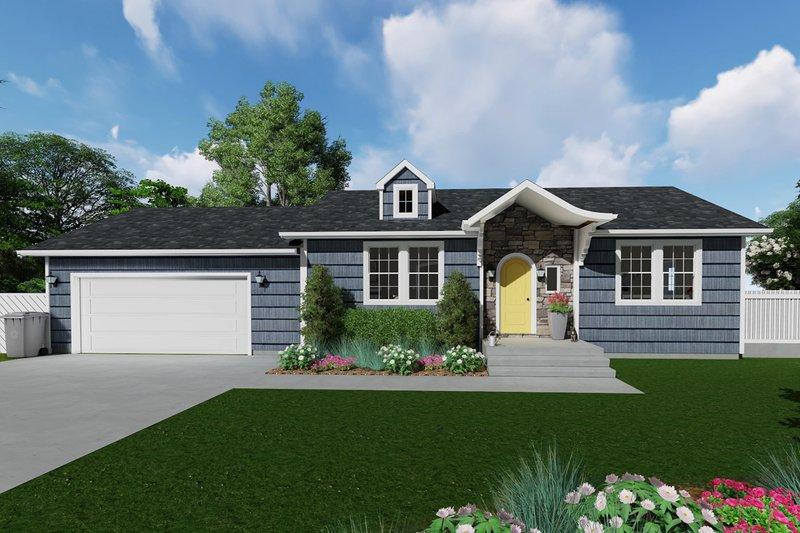 House Plan Design - Ranch Exterior - Front Elevation Plan #1060-38