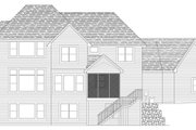 Traditional Style House Plan - 4 Beds 3.5 Baths 3314 Sq/Ft Plan #51-452