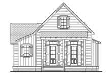 Cottage Exterior - Front Elevation Plan #430-63