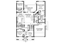 Contemporary Floor Plan - Main Floor Plan Plan #938-92