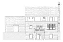 House Plan Design - Craftsman Exterior - Rear Elevation Plan #901-28