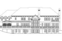 Classical Exterior - Rear Elevation Plan #119-324