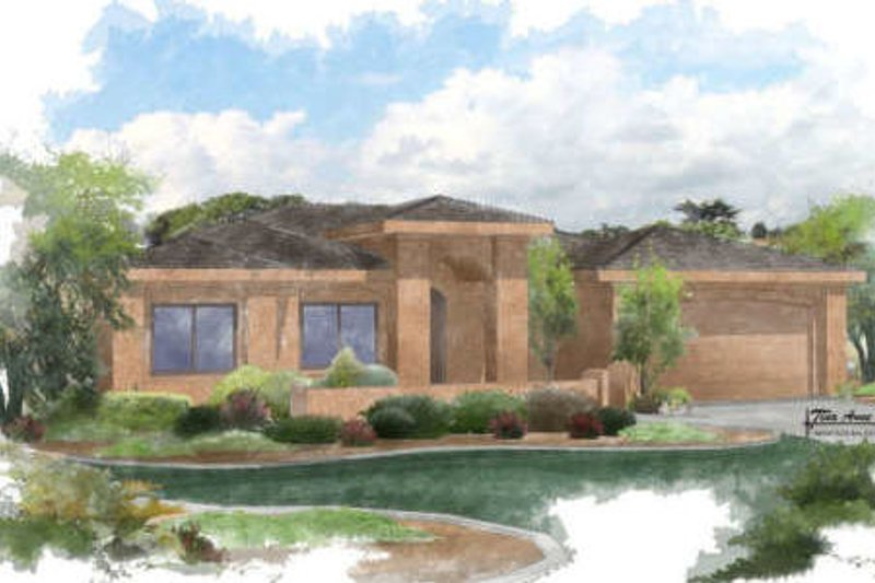 House Plan - 5 Beds 3 Baths 2955 Sq/Ft Plan #24-261 Exterior - Front Elevation