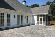 Traditional Style House Plan - 4 Beds 3.5 Baths 3026 Sq/Ft Plan #437-83 Exterior - Outdoor Living