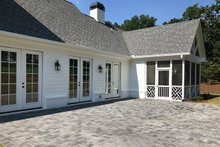 Architectural House Design - Traditional Exterior - Outdoor Living Plan #437-83