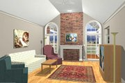 Southern Style House Plan - 3 Beds 2.5 Baths 1992 Sq/Ft Plan #56-149 Photo