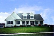 Traditional Style House Plan - 3 Beds 2.5 Baths 2081 Sq/Ft Plan #70-297 Exterior - Other Elevation